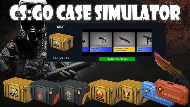 CS: GO CASE SIMULATOR