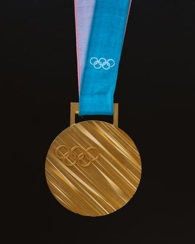 A medal with an Olympic sign imprint. E-sports are set to be included in the medal category in 2022 Asia Games