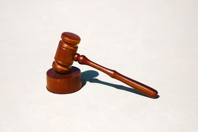 A gavel: E-sports are now attracting the attention of the law