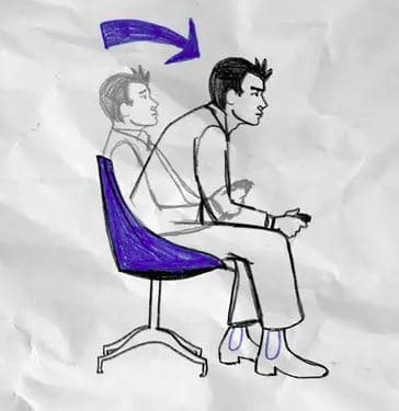 The 'Gamer Lean' is a popular posture among gamers. You should cultivate the right posture to ensure you stay healthy while gaming  Image Credit: Twitter