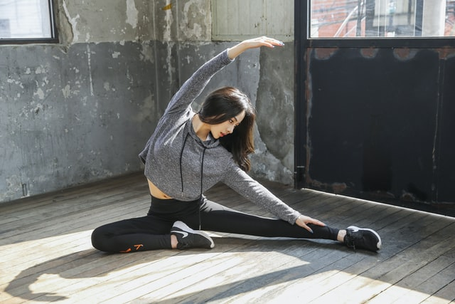 Stretching the entire body is important to keep your game fitness going