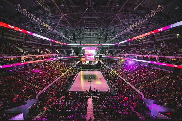The best e-sport arenas always give a more charged atmosphere